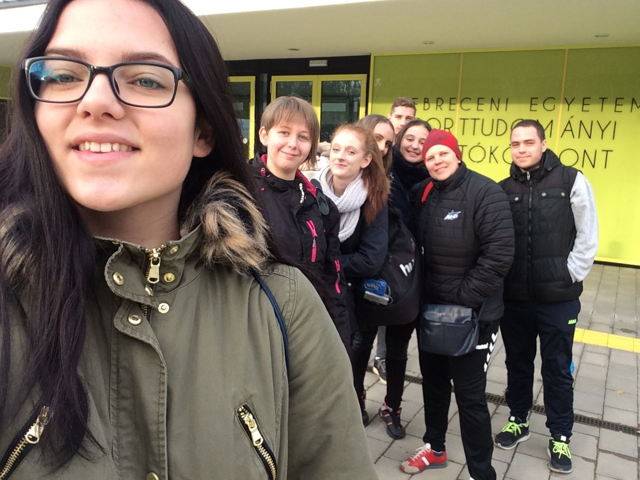 elindultunk Debrecenbe